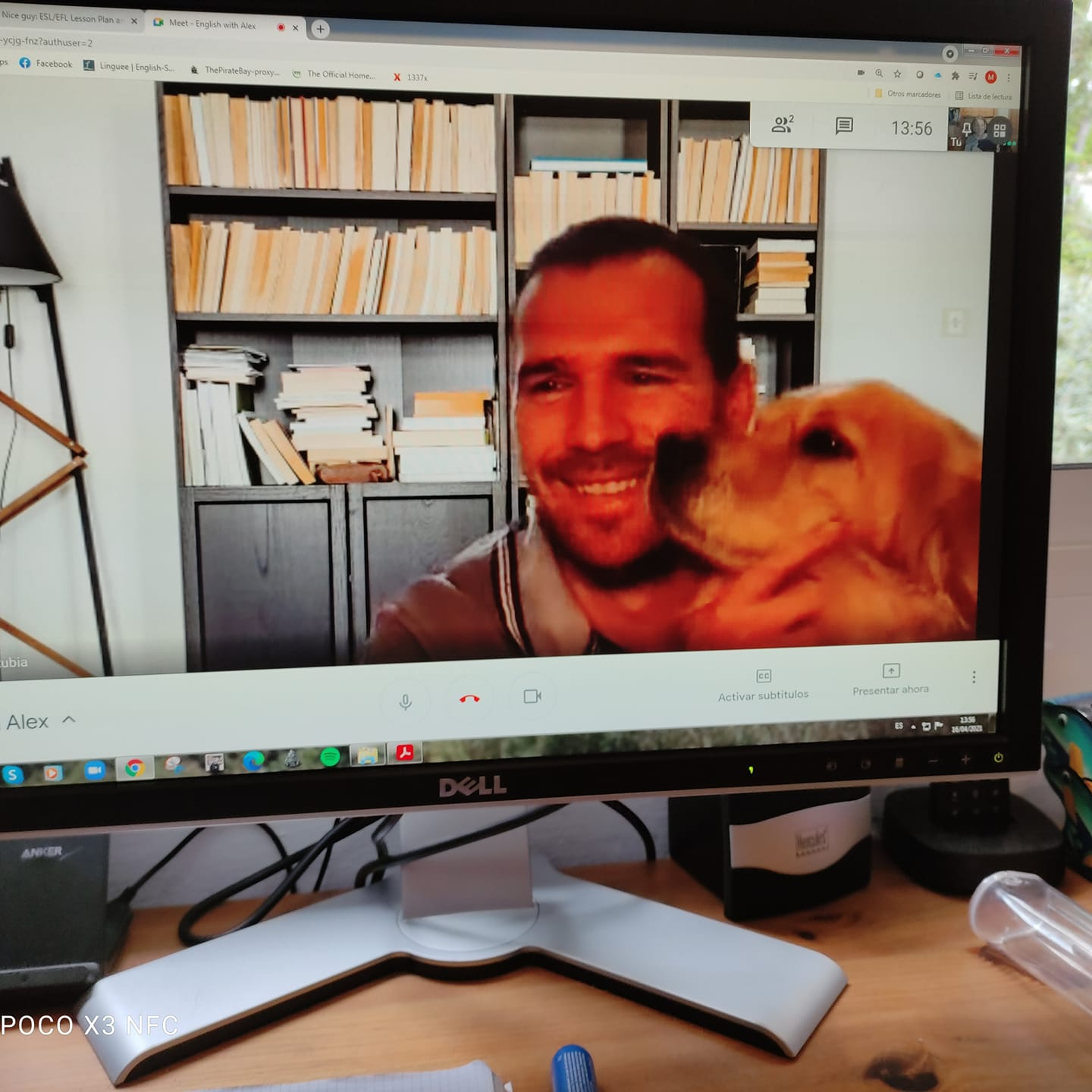 The pleasure of doing online classes with Pets!