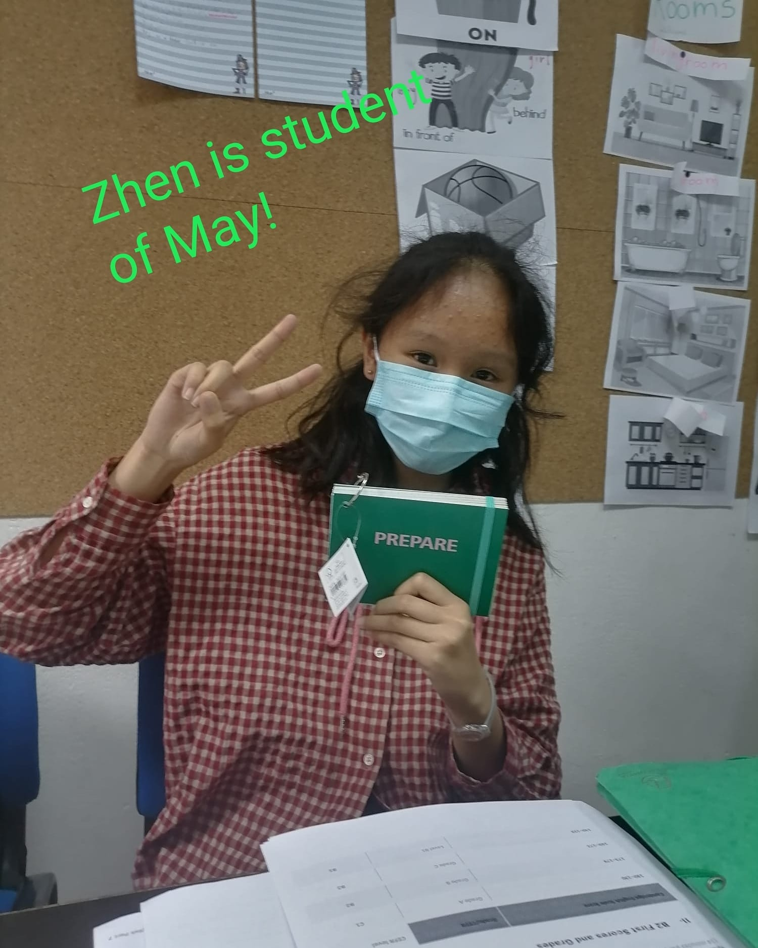 Student of May!