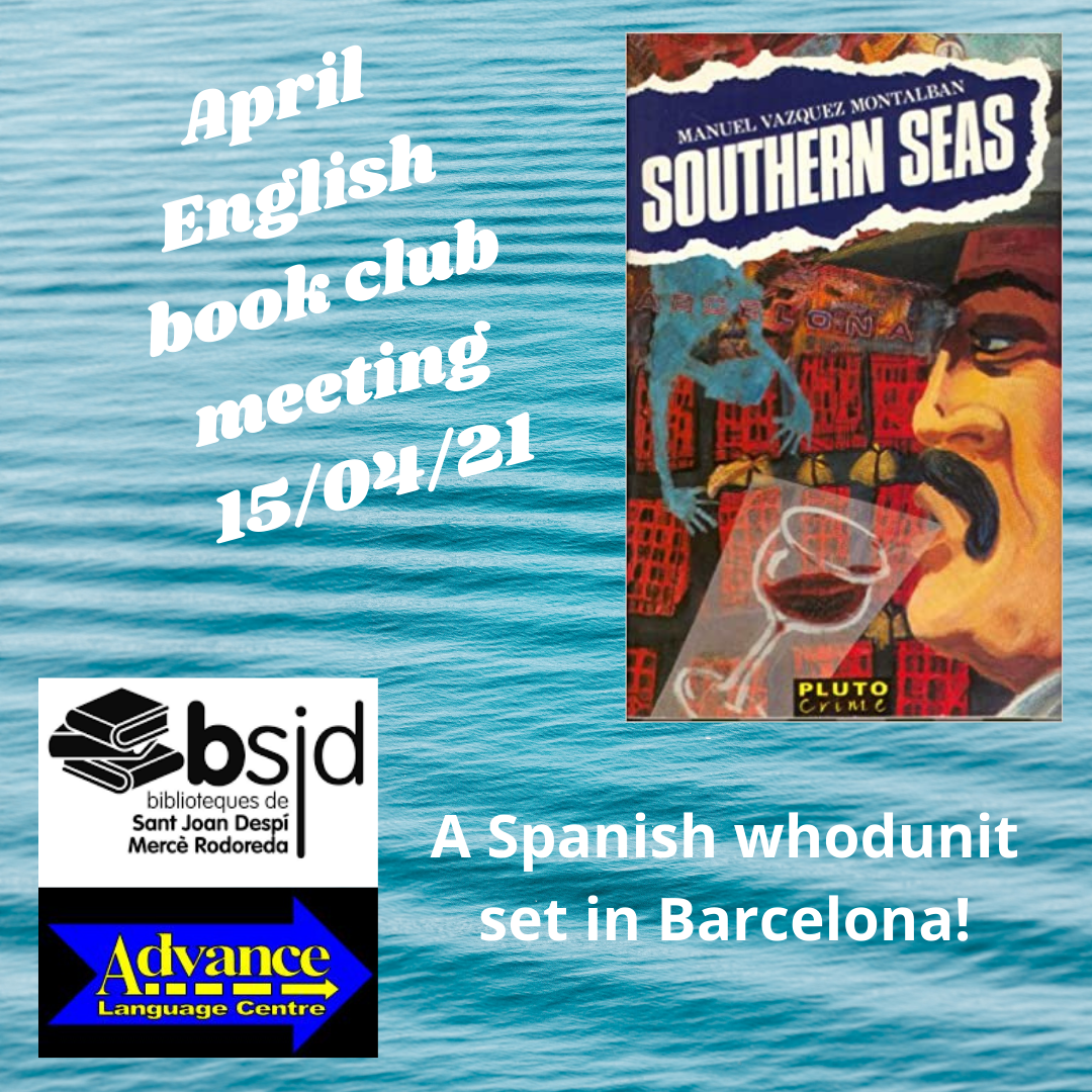 Southern Seas – our April book club session!